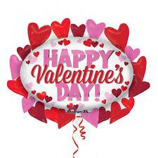 Joyeux Saint Valentin Amour Ballon Remplissage en Hélium Super Forme Cœur