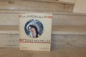 le jardin des modes nouvelles. n°2 du 15 fevrier 1913 (2ème année)