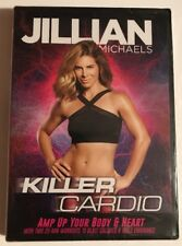 Jillian Michaels 10 Minute Body Transformation 2nd Edition DVD 5 Workouts