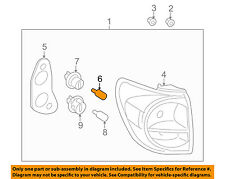 TOYOTA OEM-Tail Light Bulb 9098113044