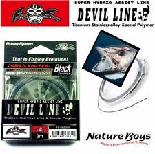 "Fishing Fighters By Nature Boys Super Hybrid Assist Leader Line "" Devil Line """