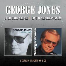 Cold Hard Truth / Live With The Possum - George Jones (2016, CD NIEUW)