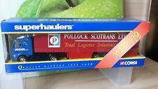 CORGI SUPERHAULER TY86714 - VOLVO CURTAINSIDER JIGSAW & POLLOCK EXPRESS