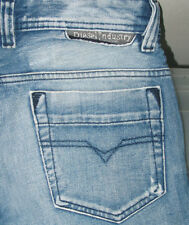 *HOT! AUTHENTIC Men's DIESEL SAFADO 71J Slim STRAIGHT LEG DISTRESS Jeans 28 x 28