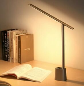 Rechargeable Folding Reading Desk Lamp (Smart Light) Studying Working
