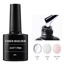 Gel Base UV LED Fiber Extension Tip Repair Nail Art Polish Soak Off Manicure 8ml