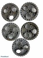 5 Vending gumball superball, jawbreaker wheels.  Acorn?  Oak?