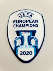 2020 EURO Winner Italy European Champions Patch Soccer