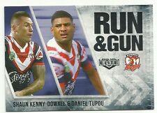2016 NRL ELITE RUN & GUN SYDNEY ROOSTER SHAUN KENNY DOWELL DANIEL TUPOU RG27