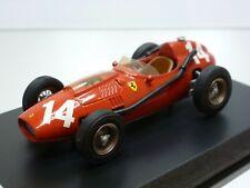 SCALE RACING CARS FERRARI 246 DINO '58 #14 - F1 RED 1:43 - GOOD on BASE