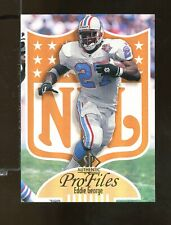 1997 Sp Authentic ProFiles Eddie George Oilers (CR5)