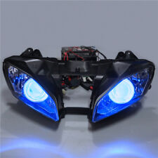Angel Eye 55W HID Projector Headlight Assembly Fit For Yamaha YZF R6 08 16