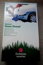 DOBBIES TELESCOPIC LIGHTWEIGHT SNOW SHOVEL BNIB
