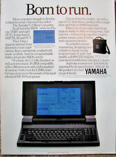 Yamaha 1980's Vintage Color Brochure for the Yamaha C1 MIDI Computer