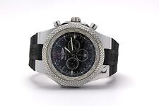 Breitling for Bentley GMT Stainless Steel Black Dial A47362