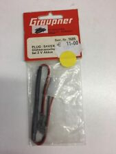 Graupner 1685 Protection at 2V accus
