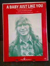 A Baby Just Like You Sheet Music Cover Art John Denver Piano Voice Guitar F1Ac