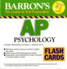 Barron's AP Psychology Flash Cards by Robert McEntarffer and Allyson J. Weseley