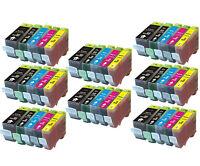 40PK NEW Ink Set w/ Chip for PGI-220 CLI-221 Canon Pixma MP640 MX860 MX870 MP560