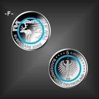 5 EURO Münze Polymerring türkis -Subpolare Zone- BRD Deutschland 2020 -F-