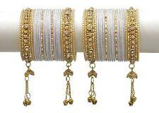 Indian Bollywood Jewelry Bangles Bracelet Wedding Set Bangle Bridal Women Kada