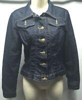 XOXO Jeans Denim Jacket S Blue Stretch  Lightweight Jacket Size Small Juniors