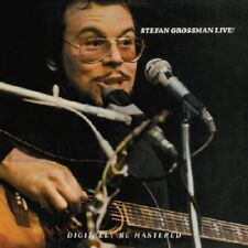 Stefan Grossman Live 2-CD NEW SEALED 2011 Digitally Remastered Jazz