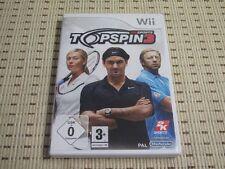 Top SPIN 3 per Nintendo Wii e Wii U * OVP *