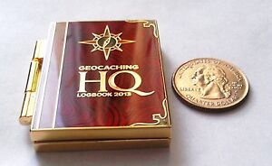 ☆ 2013 Lackey Geocoin Logbook HQ unactivated trackable
