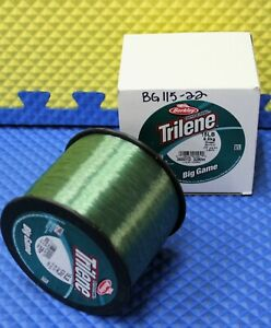 Berkley Trilene Big Game Fishing Line 1lb. Spools Green BG-22 CHOOSE LINE WEIGHT
