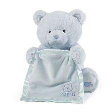 Animated Moving Blue Baby Boy Gund Talking Peek A Boo Teddy Bear ~ Newborn Gift
