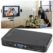 USB External HDD Media Player with HDMI VGA SD Support MKV Make anyTV into HD TV