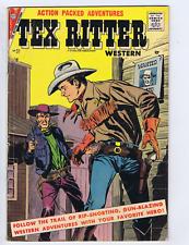 Tex Ritter Western #37 Charlton 1957