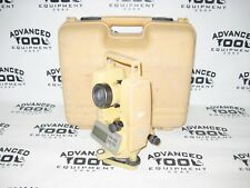 Topcon DT-209 Optical Digital Theodolite w/ Laser and Free Carrying Case DT-200