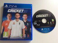 Ps4 Playstation 4 Cricket 19