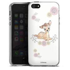 Apple iPhone 5 Silikon Hülle Case - Bambi cute
