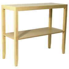 Mesas de color principal marrón para el dormitorio