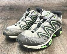 Salomon Women's XT Wings 2 Gray/Green Trail Running Shoe Size 7