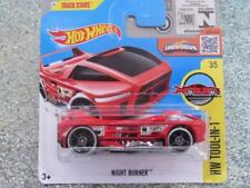 HOT WHEELS 2016 # 033/250 noche Quemador Rojo HW tool-in-1 Treasure Hunt Funda L