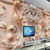 Thick 3d Wallpapers For Home Living Room Wall Murals Covering Elegant Wallpaper