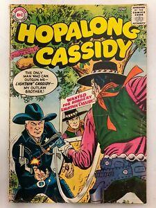 1957 Sept-Oct No 125 Hopalong Cassidy Comic Book Lightning Cassidy