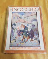 Pinocchio C. Collodi English Translation Illustrated HC DJ Frederick Richardson