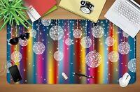 3D Bunter Mondschei H38 Christmas Rutschfest Schreibtisch Matte Tastatur Pad Amy