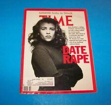 Time Magazine Date Rape / Rajiv Gandhi Murder India / 1991