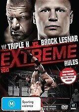 WWE EXTREME RULES 2013 Wrestling DVD - Triple H, Brock Lesnar (Region 4)