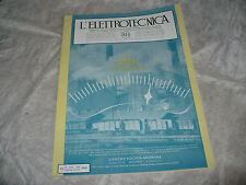 RIVISTA L'ELETTROTECNICA AEI N.24 12/1941 COPERTINA SIEMENS TECNICA DELLE MISURE