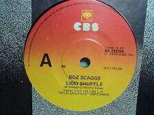 "Boz Scaggs ""What Can I Say / Lido Shuffle""  Oz 7"""
