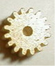 16 Tooth Brass Pinion Gear with 48 Pitch for .078 shaft Motor Nos 1960's #4037