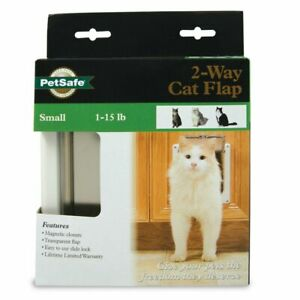 PetSafe 2-Way Cat Door - Flap Style - NEW