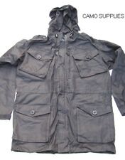 """British Forces Black Ripstop Field Smock / Hooded Jacket Size 190/96 (36""""chest)"""